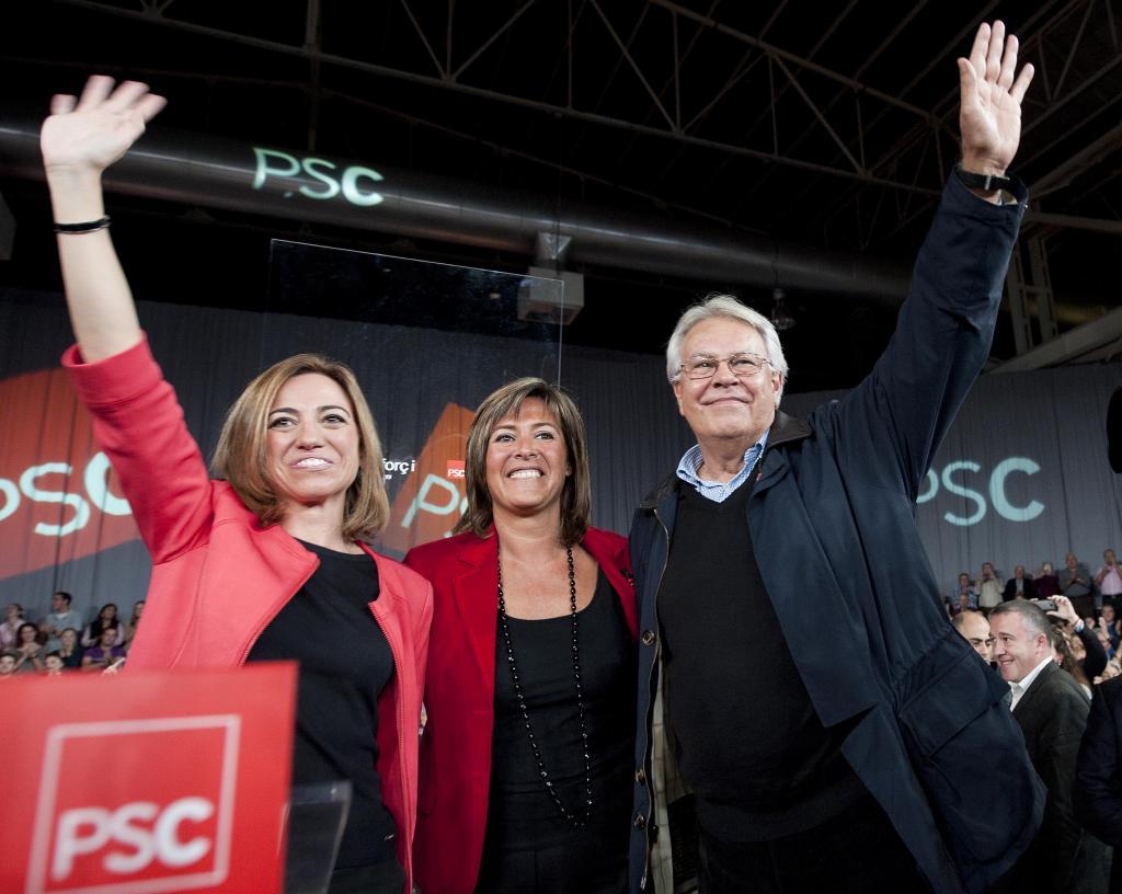 El PSC fa campanya pel NO