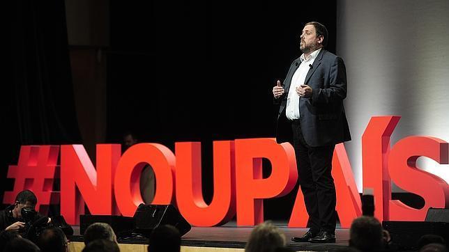 Conferencia d'Oriol Junqueras #CridaNouPaís